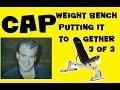 default - CAP Barbell Deluxe Utility Weight Bench