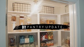 DIY Pantry Makeover