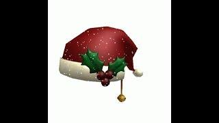 roblox dragonl ife beta : HOW HAVE CHRISMAS HAT!!! COMMENT AVOIR LE CHAPEAU DE NOEL!!!