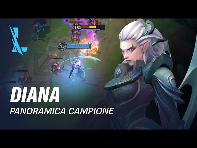 Panoramica campione Diana | Gameplay - League of Legends: Wild Rift