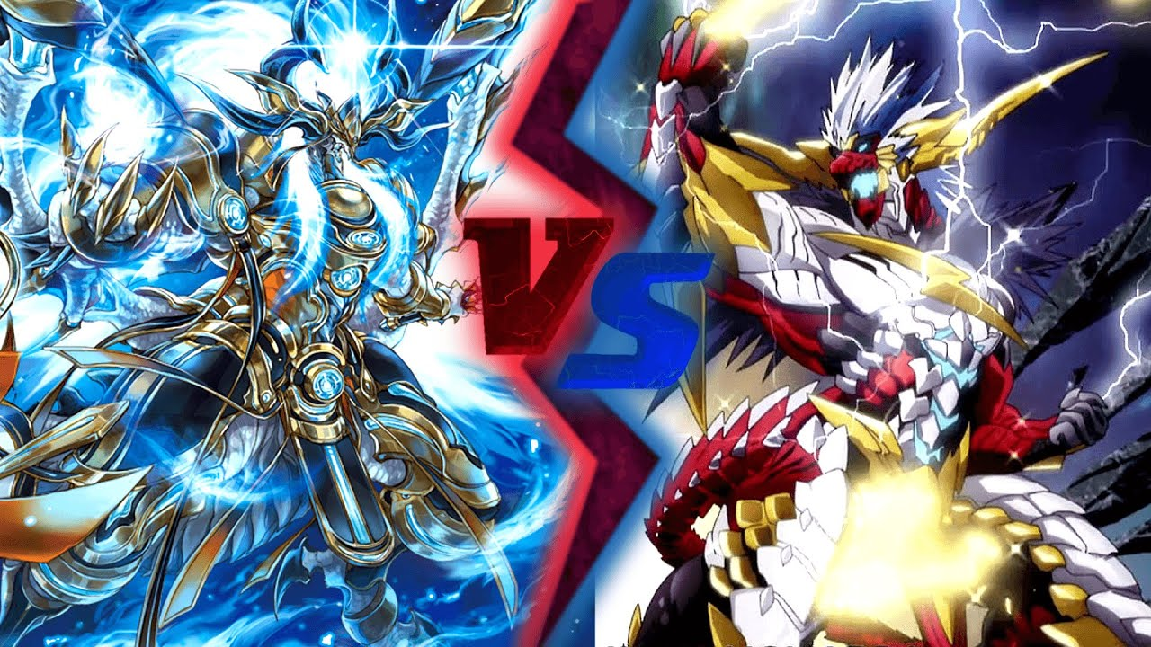 Cardfight Vanguard Bluish Flames Vs Brawlers Gold Paladin Narukami