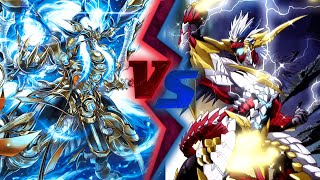 Cardfight!! Vanguard: Bluish Flames vs Brawlers (Gold Paladin vs Narukami)