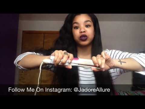 how i straighten my hair how i straighten my hair burmese wavy 31070