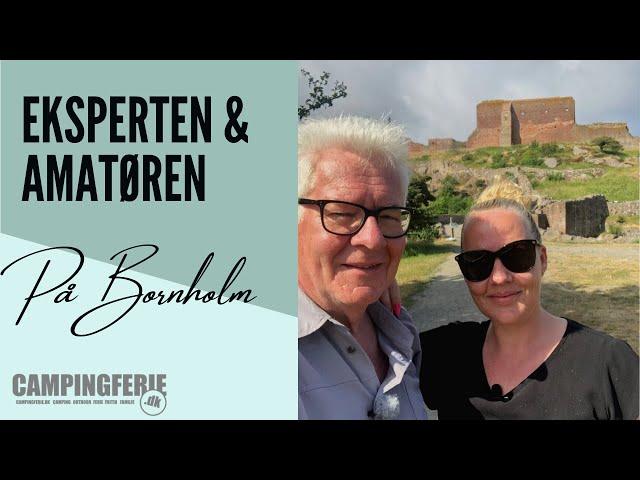 Vlog 1 Eksperten & Amatøren på Bornholm 2021 (afsnit 1)