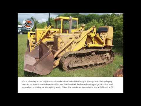 Classic Machines: The Caterpillar 933 Traxcavator