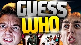 CRAZY FLASHBACK GUESS WHO PACK OPENING VS TDPRESENTS - MADDEN 16 PACK OPENING