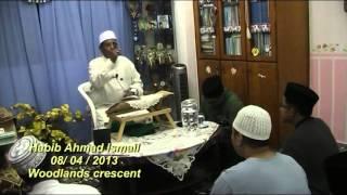 Habib Ahmad Ismail : Belajarlah ilmu yang boleh membaikkan hati