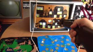 """Magnavox Odyssey Shooting Gallery """"SHOOTOUT!"""" Game"""
