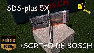 ANÁLISIS DE LAS NUEVAS BROCAS SDS-plus 5X DE BOSCH