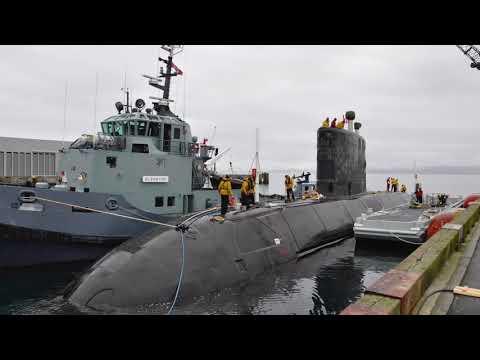 Saskatchewan-born submarine commander Tim Markusson