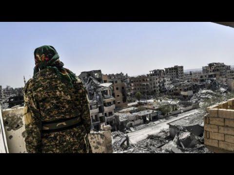 قوات سوريا الديمقراطية تعلن استعادة مدينة الرقة بالكامل من تنظيم -الدولة الإسلامية-  - 17:21-2017 / 10 / 17