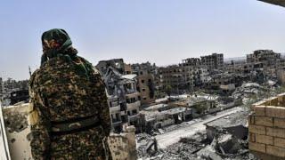 قوات سوريا الديمقراطية تعلن استعادة مدينة الرقة بالكامل من تنظيم