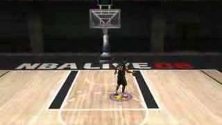 NBA LIVE 08 PC practice video test