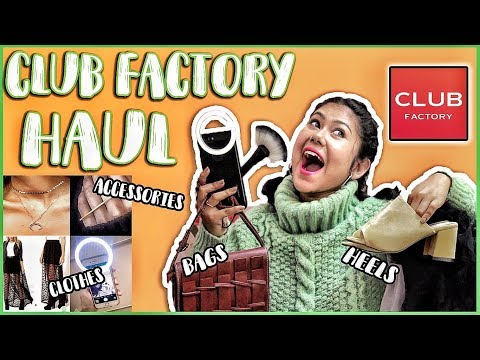 Club Factory HAUL | Clothing, Jewellery, Heels & More (Indian Customer Review)
