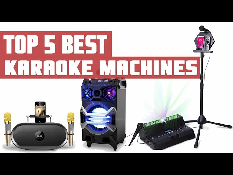 Best Karaoke Machine | Top 5 Best Karaoke Machines For Home