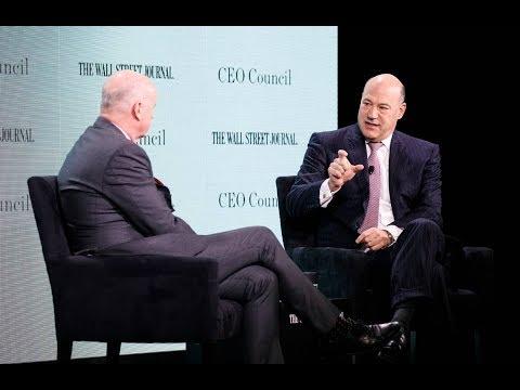 Gary Cohn Awkwardly Owns Himself While Touting Tax Cuts