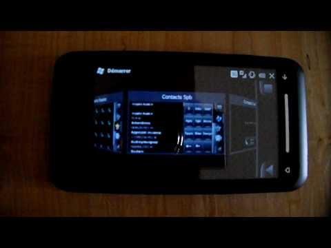 TOSHIBA TG01 + Windows mobile 6.5 + SPB Mobile shell3