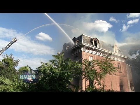 An abandoned building at 197 First St. in Newburgh was destroyed by a three-alarm fire Tuesday evening, HVNN.com reports.