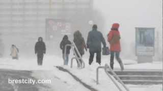 BRESTCITY.COM: Циклон «Хавьер» в Бресте (Беларусь)
