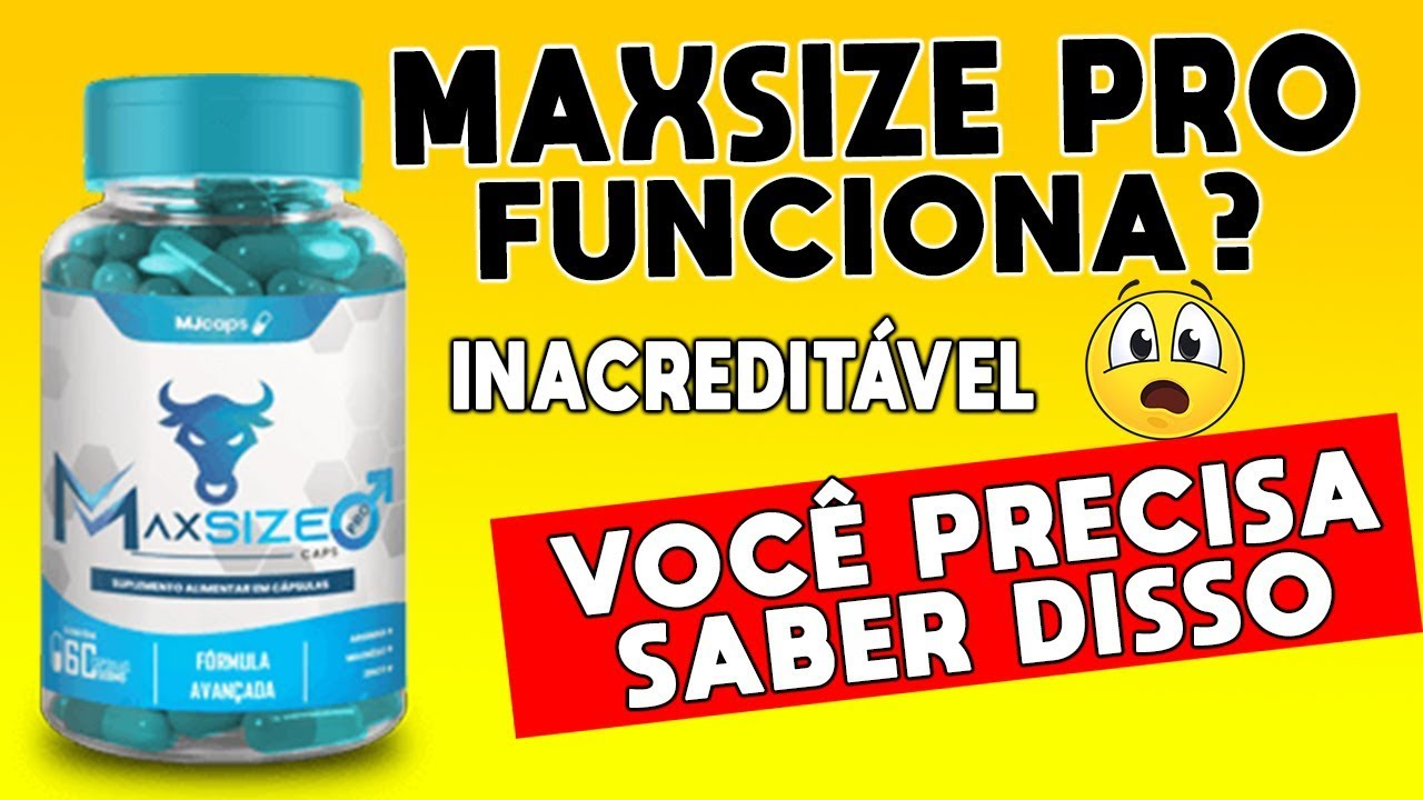 G1 >> MaxSize Pro Funciona tomar Preço BOLETO TELEFONE ONDE COMPRAR MaxSize Pro