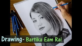 Bartika Eam Rai Drawing by RAHZUNART