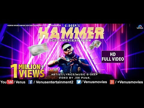 Hammer – HD VIDEO Singer & Feat : G-Deep Latest Hip Hop & Rap mp3 letöltés
