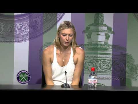 Maria Sharapova Pre-Wimbledon Press Conference