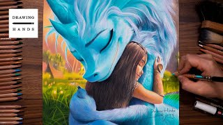 Raya and the Last Dragon - Raya & Sisu [Drawing Hands]