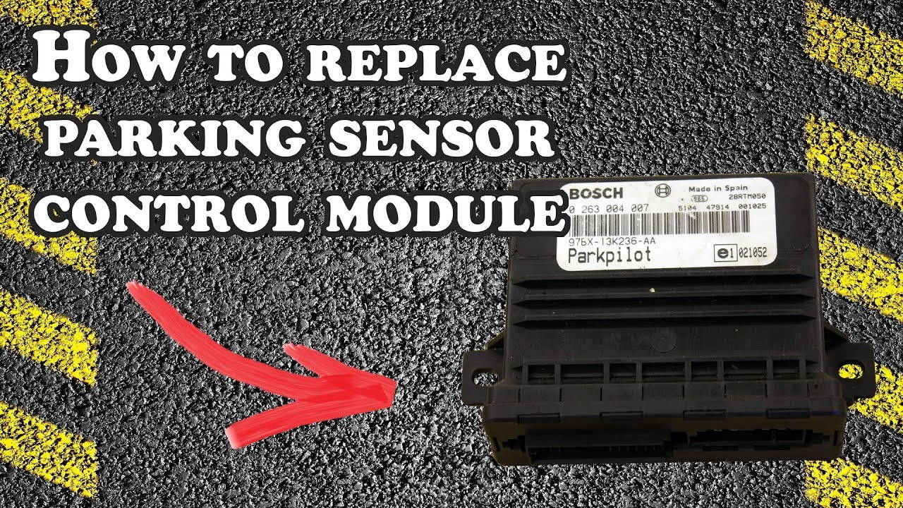 How to Replace Parking Sensor Control (PDC) Module  Ford Focus 2001  YouTube
