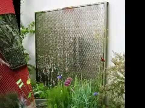 Outdoor wall decor ideas - YouTube on Backyard Wall Decor Ideas  id=24696