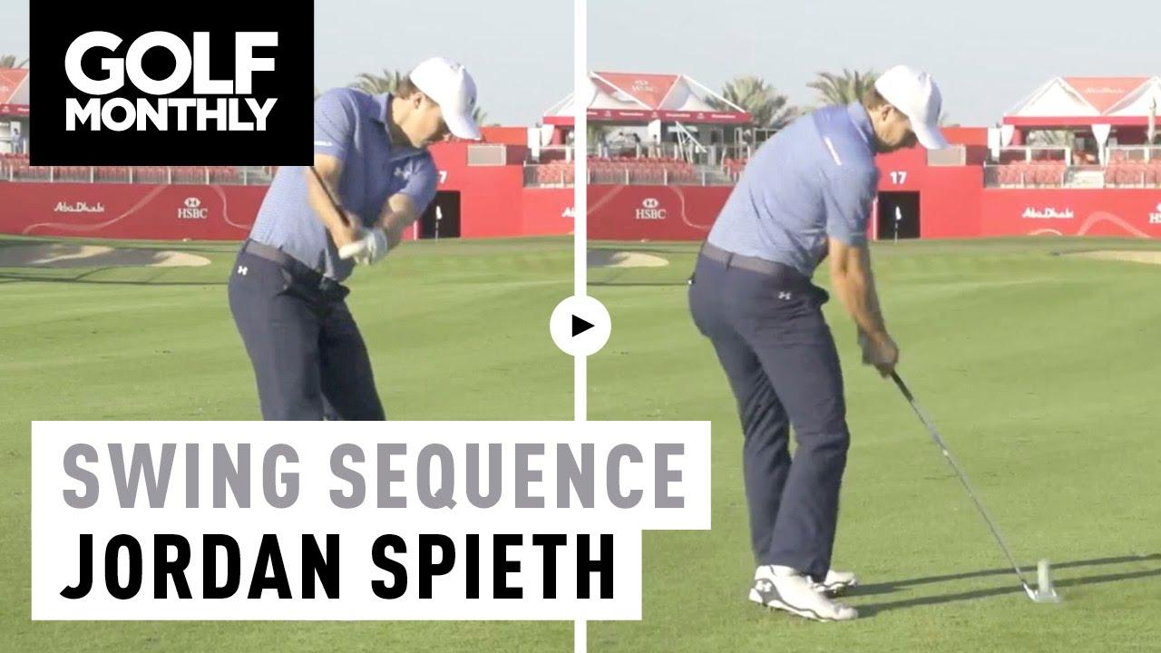 2016 Jordan Spieth Swing Sequence