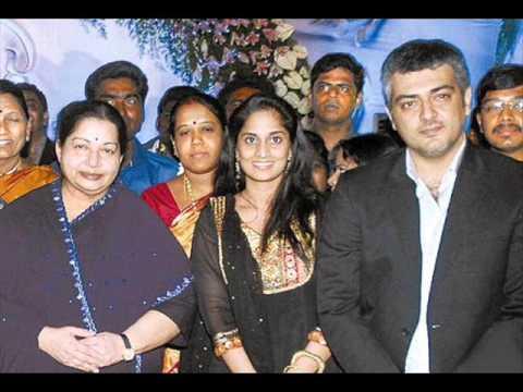 AJITH And SHALINI With Jayalalitha AMMA, AJITH Wife SHALINI And Daughter Anoushka Kumar Unseen Pics