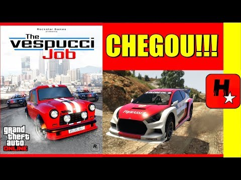 NOVA DLC GTA 5 ONLINE: NOVOS VEÍCULOS, CARROS FLASH GT & ISSI, novo Helicóptero SEA SPAROW, New Job