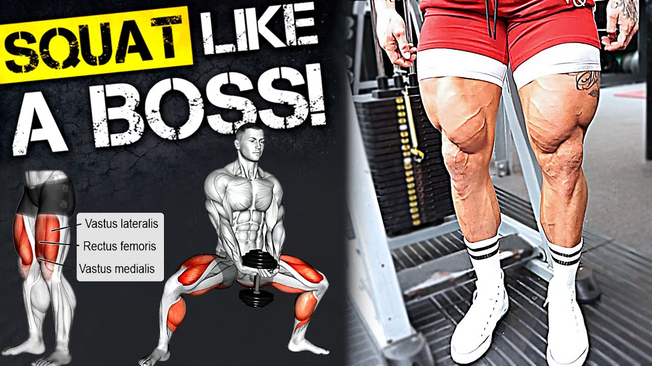 High Intensity: LEG DAY! Save & Try this Big Legs Workout