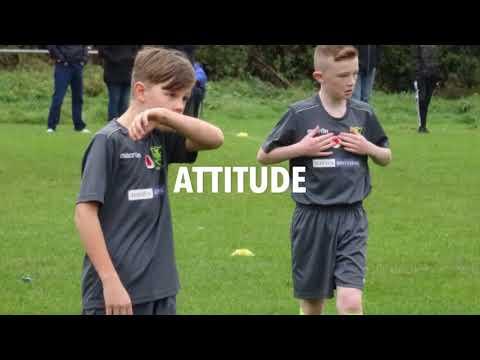 Acrefair Youth FC Vs Borras Park Rangers  U11s - 11th November 2017