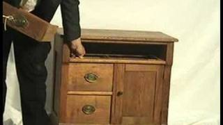 Chippendale Oak Dry Sink