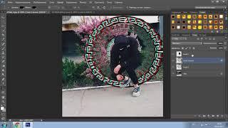 Как делать фото Глитч с Руной)0