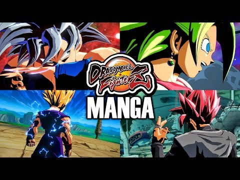 *new*-manga-colors-pack!-dragon-ball-fighterz-all-manga-character-textures-mod-(dramatic-finishes)