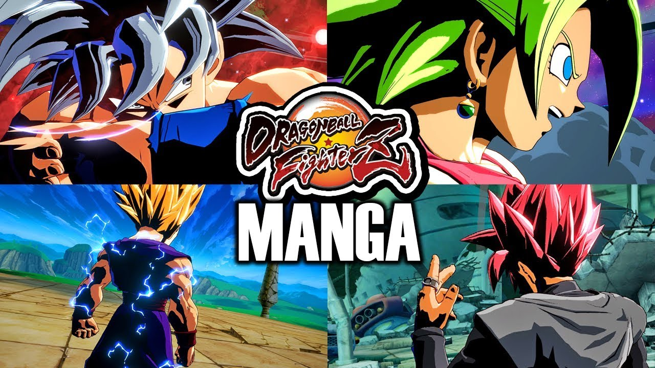 New Manga Colors Pack Dragon Ball Fighterz All Manga Character Textures Mod Dramatic Finishes Youtube