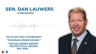 Sen. Lauwers talks with Bill Ballenger
