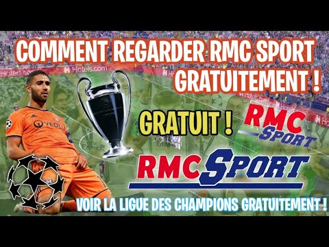 WATCH RMC SPORT FOR FREE ! (CHAMPIONS LEAGUE !!)