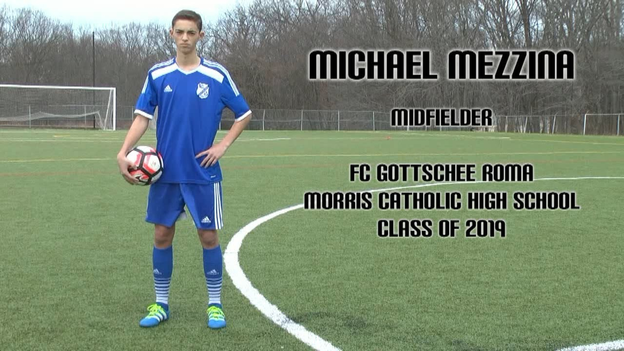 Michael Mezzina - College Soccer Recruiting Highlight Video - Class of 2019
