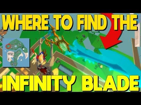 All The Locations Of The Infinity Blade In Strucid...