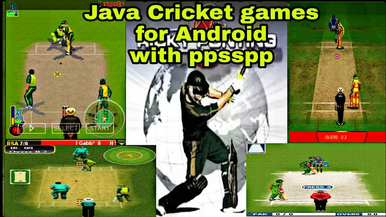 java cricket games free download