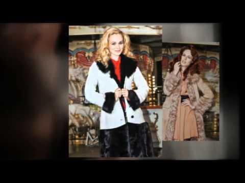 Модные женские дубленки 2015-2016