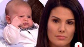 Rebekah Vardy brings newborn Finley on Loose Women, as she reveals troll wished he was still-born