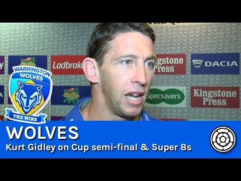 Kurt Gidley on Wolves in the Super 8s