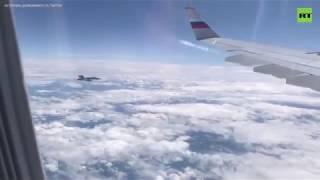 Истребители ВВС Швейцарии приблизились к российскому правительственному самолёту