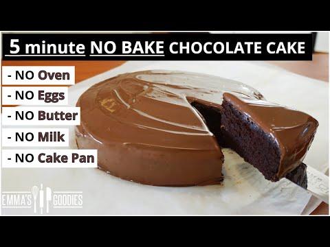 5-minute-chocolate-cake-!-no-oven---no-pan---easy-chocolate-cake-recipe