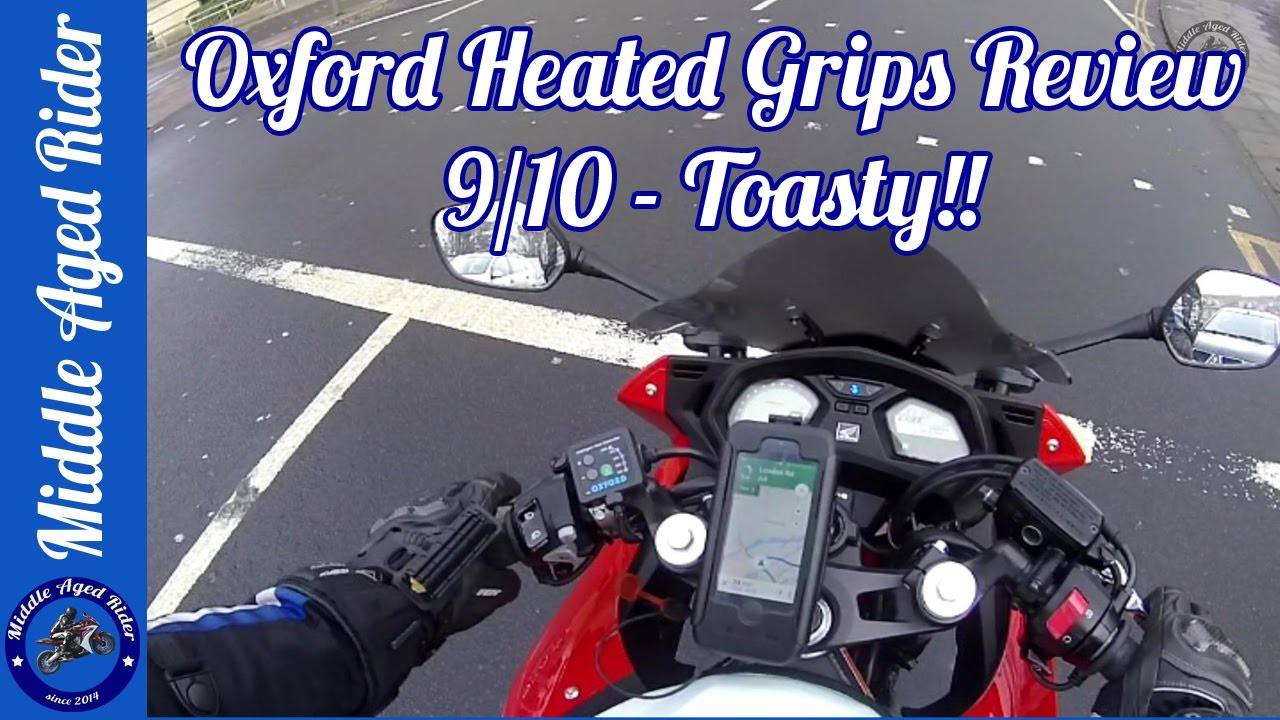 Heated motorcycle gloves vs heated grips - Oxford Heated Premium Hot Grips Review
